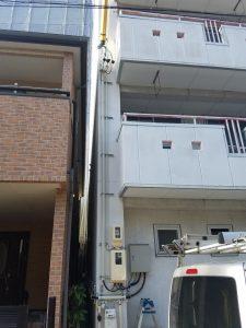 名古屋市千種区にて引込口配線電気工事