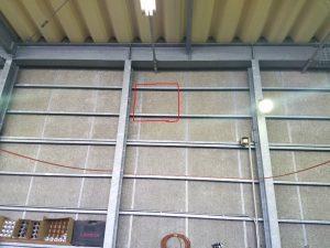 名古屋市港区にて有圧換気扇取付工事