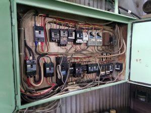 名古屋市南区でカバー付ナイフスイッチ(CKS)からノーヒューズブレーカー(NFB)へ切替電気工事