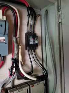 電気工事~名古屋市中川区の工場にて電気契約変更(減設)に伴う主幹ブレーカーの取替電気工事
