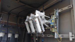 名古屋市中区の工場にてキュービクル内設備(LBS、GR、ZCT)更新電気工事