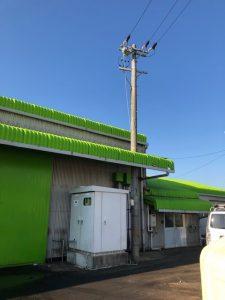 愛知県津島市にて高圧設備の更新電気工事
