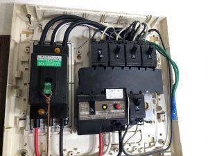 ブレーカー交換~愛知県あま市の住宅にて安全ブレーカーの取替電気工事