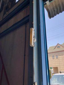 名古屋市港区の倉庫にてウォールライト取替電気工事