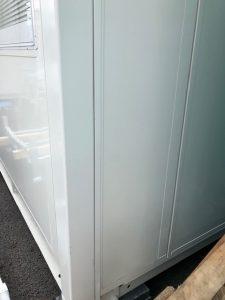 愛知県弥富市の事務所にて防水コンセントの取付電気工事