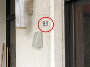 名古屋市中村区の戸建住宅にて光ケーブル用配管電気工事