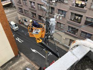 名古屋市熱田区の公共施設にてキュービクル更新に伴う高圧ケーブル張替電気工事