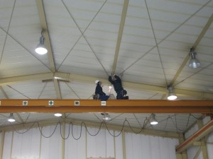 工場内電気工事