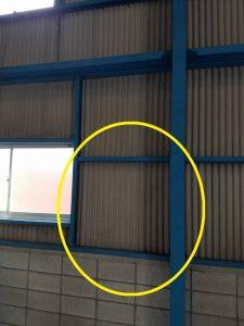 名古屋市南区の工場にて動力用分電盤の取付電気工事