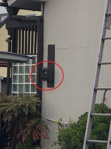 名古屋市南区の戸建住宅にてアンペア増設、分電盤取替及び感震ブレーカ取付電気工事