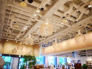 名古屋市緑区の住宅にてOCTO4240ペンダントライトのコード長調整及び取付電気工事