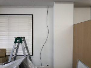 名古屋市西区のオフィスにてコンセントの増設電気工事